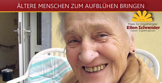 … ältere Menschen zum Aufblühen bringen …